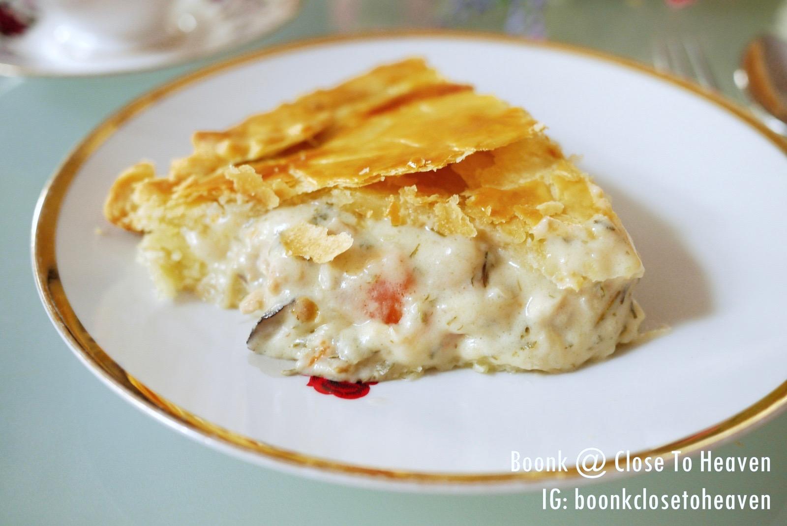 ***  Chicken Pot Pie สูตรพายไก่ซอสขาว  ***