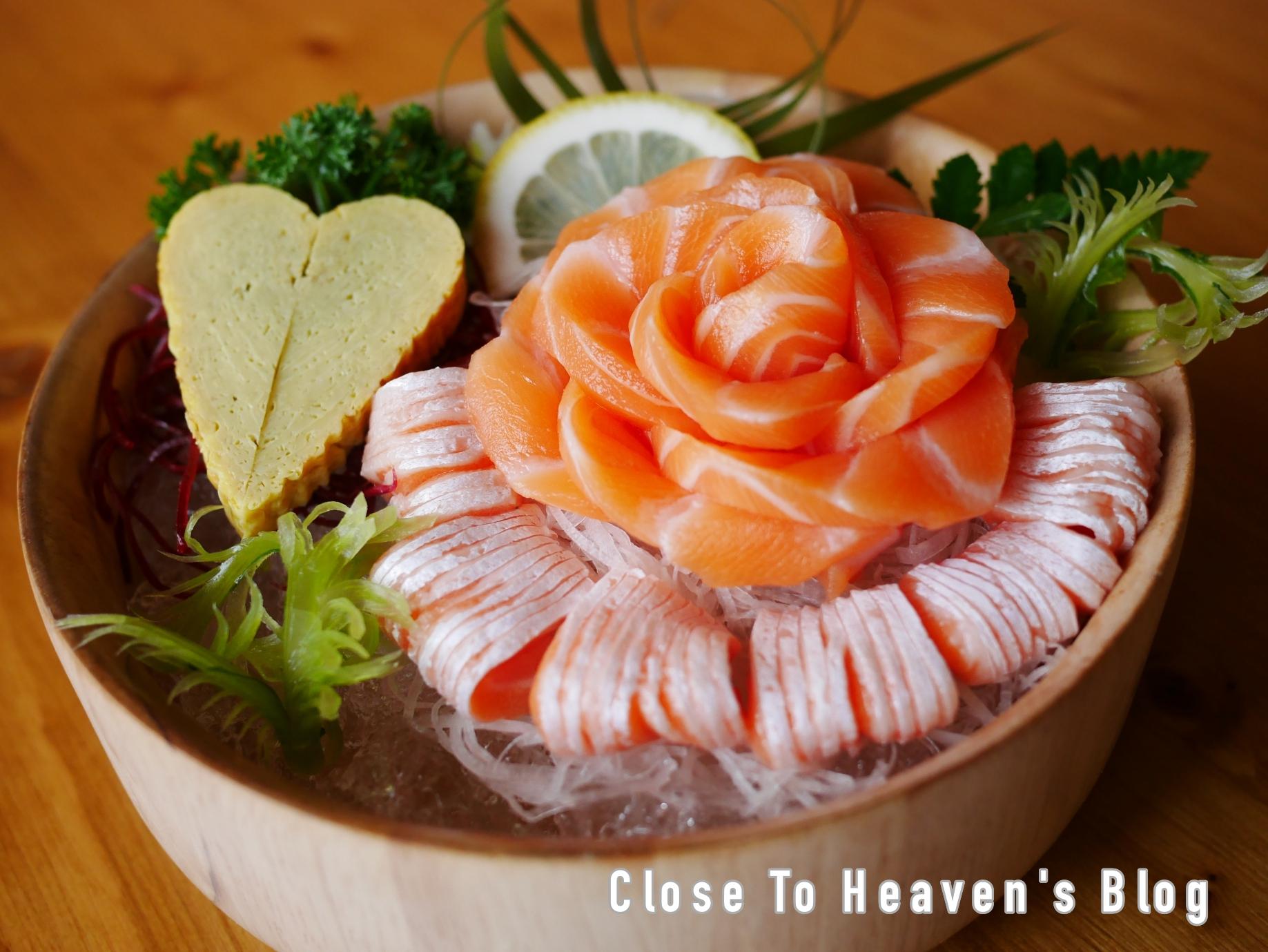 บุฟเฟต์แซลมอน Freshii Sushi Bar เมืองทอง