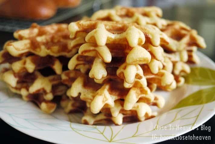 Liège Belgian Waffles recipe