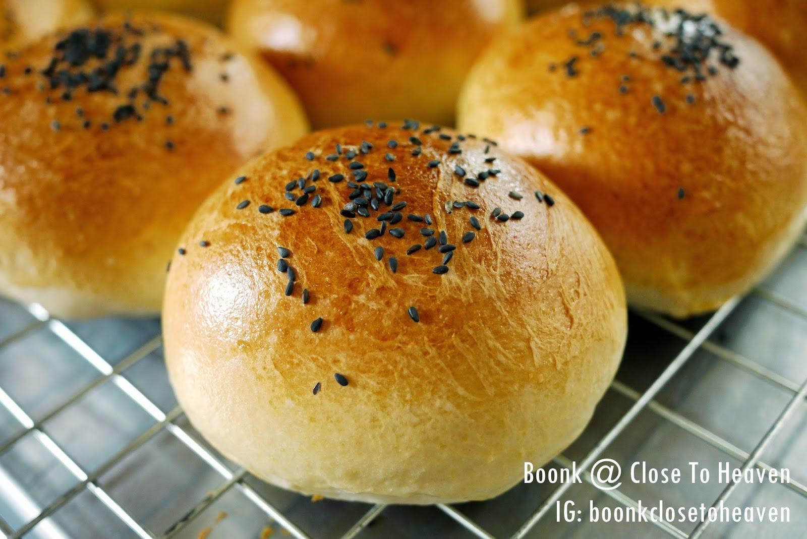 ขนมปังเบอร์เกอร์ Soft Sandwich Rolls
