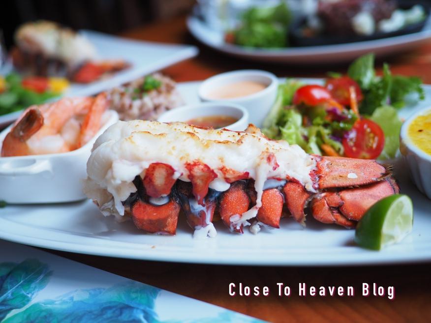 เมนู Lobster Promotion ที่ Sizzler
