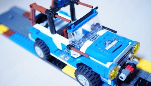 Otto & his LEGO creation