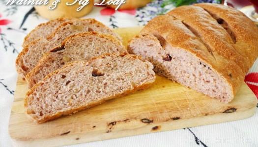 ***   Walnut & Fig Loaf (bread)  ***