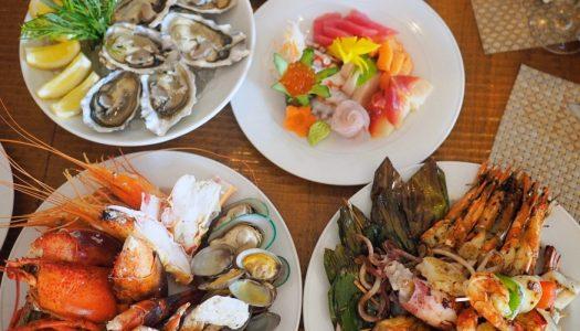 Sunday Brunch Buffet ห้องอาหาร Next 2 Cafe โรงแรม Shangri-la Bangkok