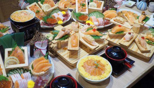 Sushi Den กับโปรโมชั่นสำหรับคนรักแซลมอน