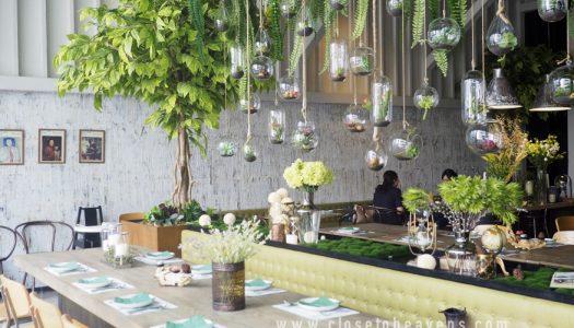 GISMO Coffee & Roaster ค้นพบร้านใหม่ สวนสวยใจกลางเมือง
