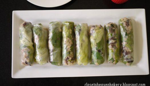 ปอเปี๊ยะสดญวน Fresh Spring Rolls