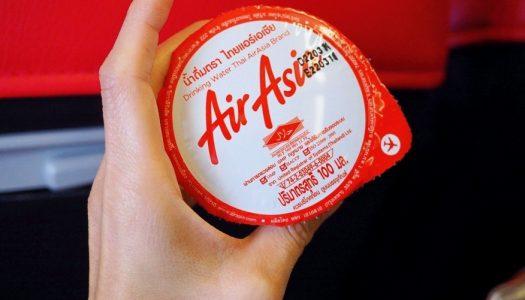 รีวิวอาหารเมนูใหม่บนเครื่องบิน SANTAN AirAsia