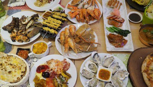 บุฟเฟ่ต์ อาหารทะเล โรงแรม Amari Watergate Bangkok ห้องอาหาร Amaya Food Gallery