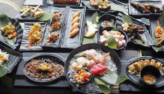 บุฟเฟ่ต์อาหารญี่ปุ่น Kouen Sushi Bar สาขา The Sense ปิ่นเกล้า