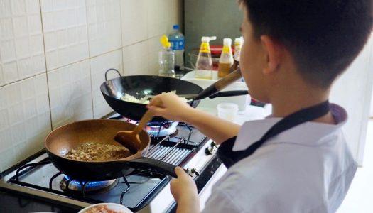 เมนูหมูสับ เมื่อลูกอยากหัดทำอาหาร