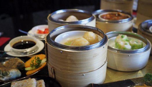 Sunday Dim Sum Lunch ห้องอาหาร Sui Sian Landmark Bangkok