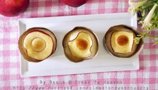 Apple Buns สูตรขนมปัง หวานไส้แอปเปิ้ล
