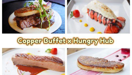 โปรโมชั่น Copper Buffet ร่วมกับ Hungry Hub 2019