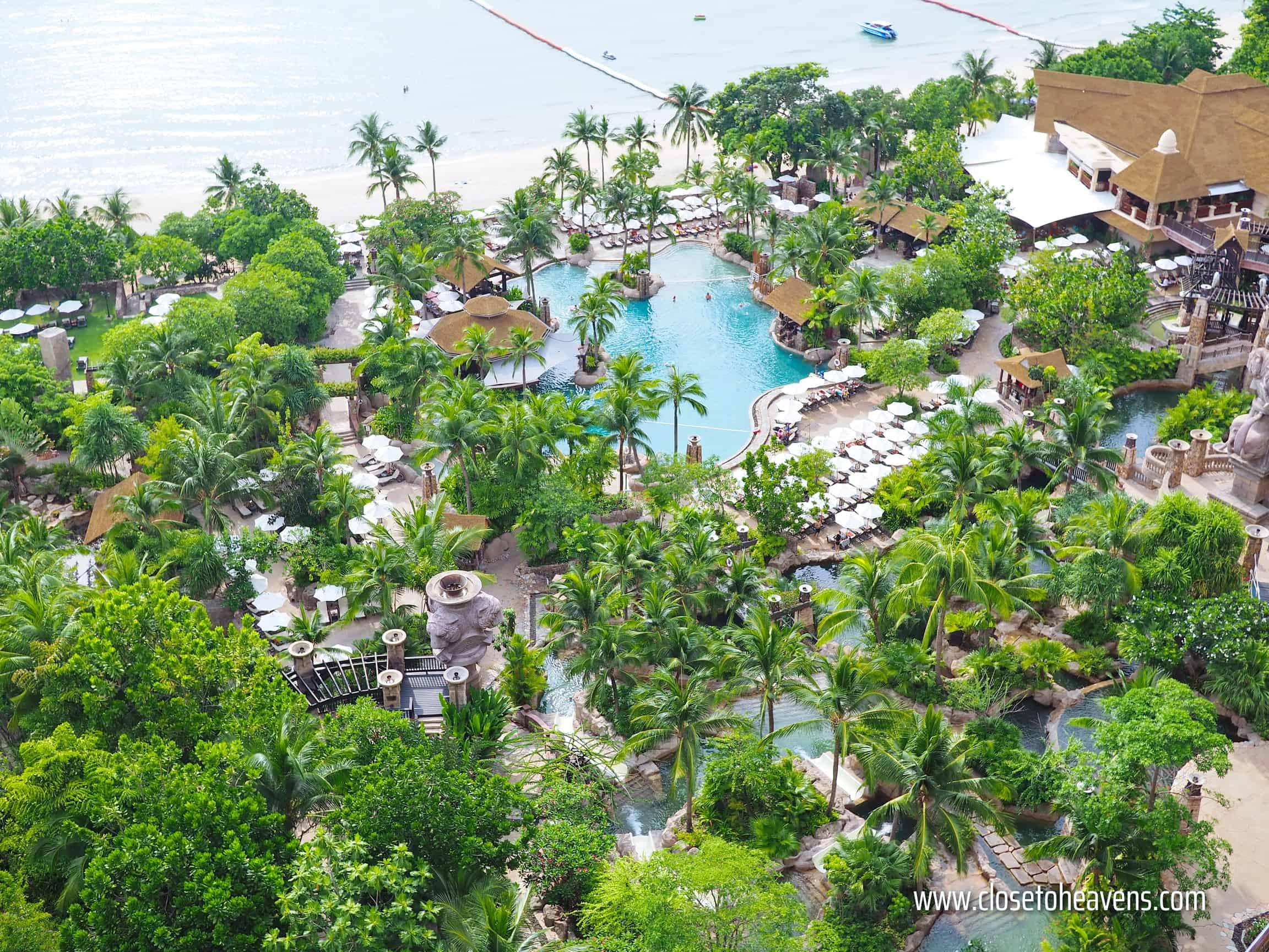 Water park at Centara Grand Mirage Pattaya