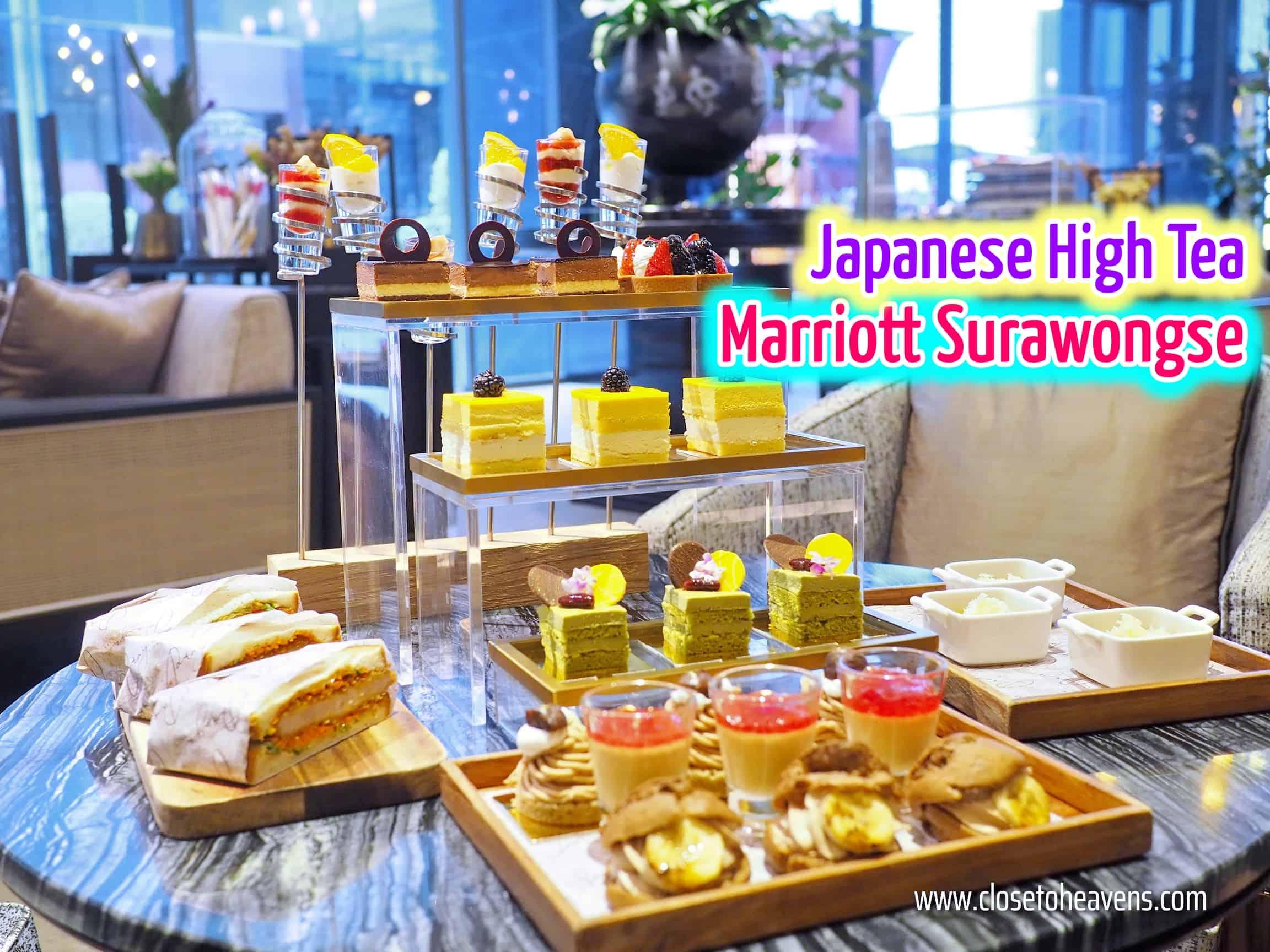 Japanese High Tea Marriott Surawongse