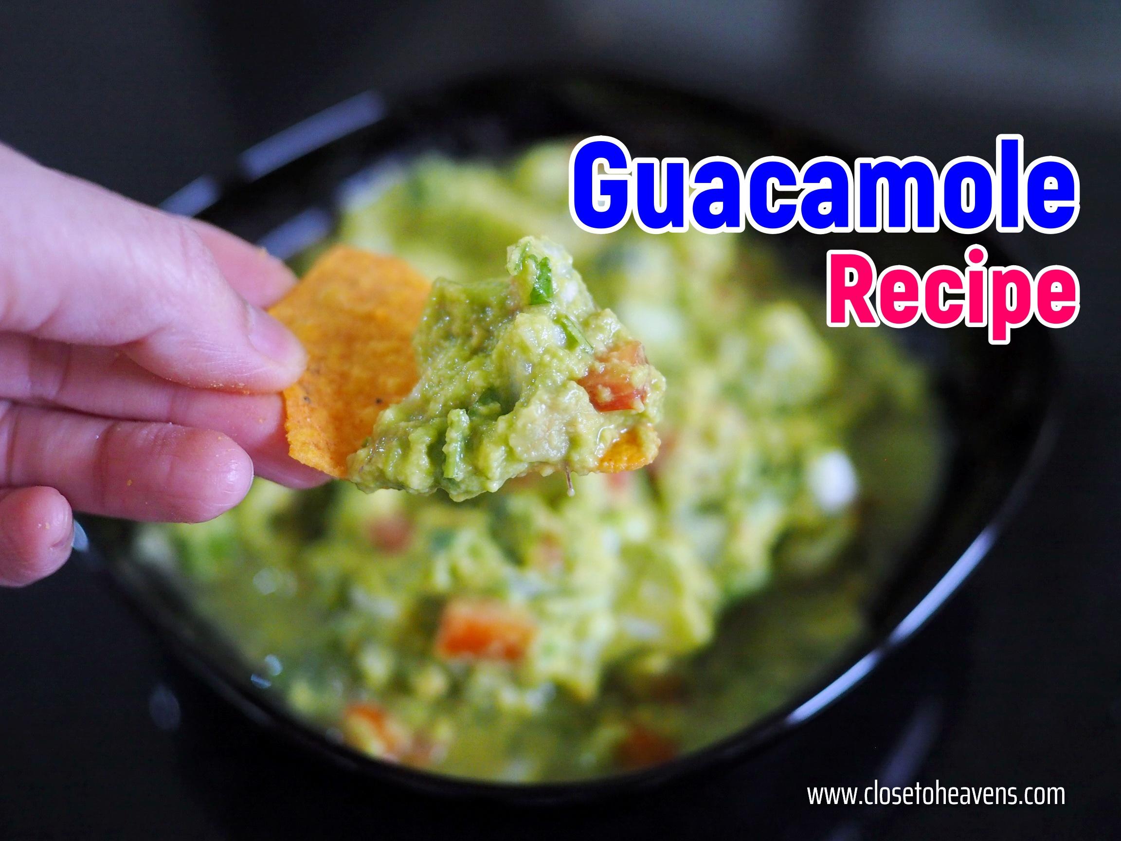 Guacamole recipe สูตร กัวคาโมเล่