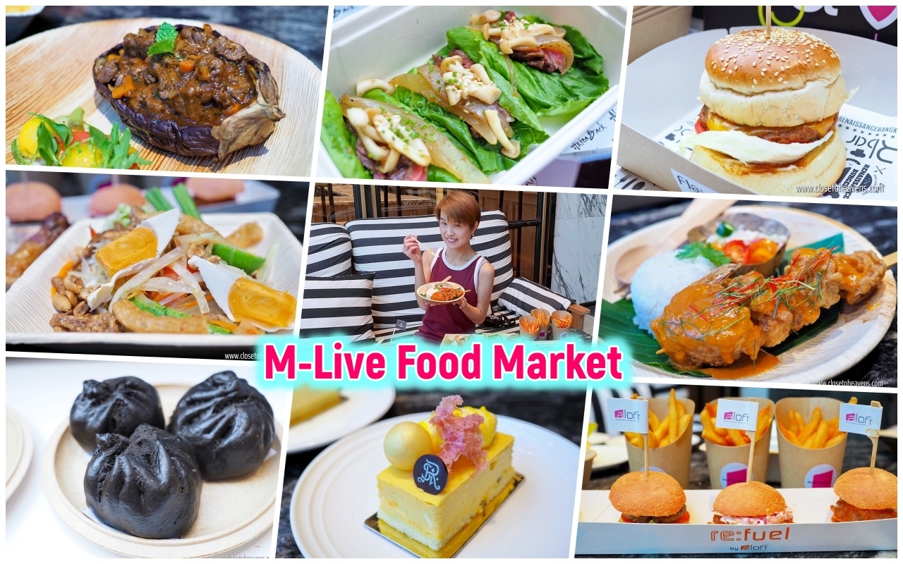 M-Live Food Market by the Pool 2019