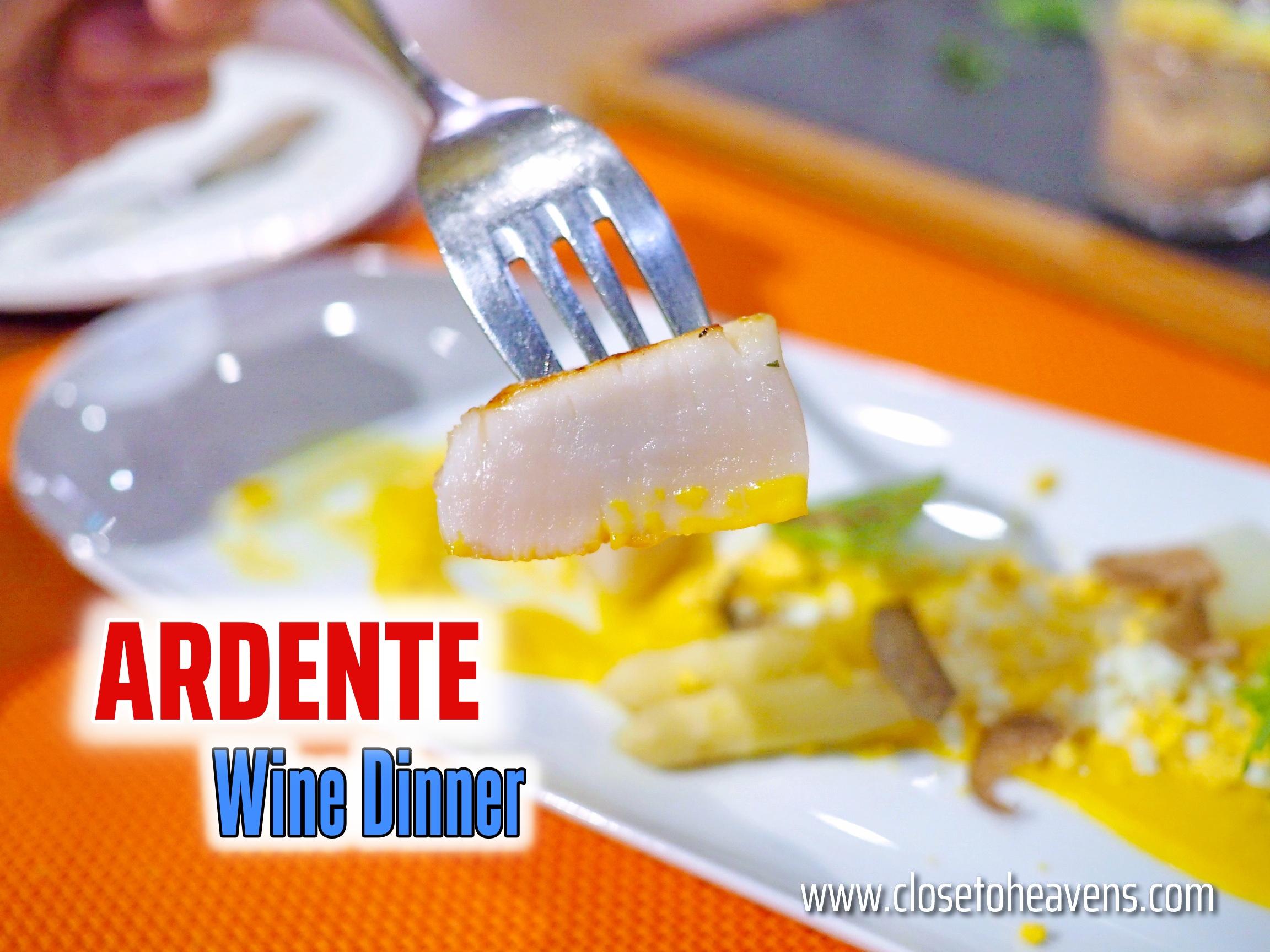 Ardente Il Ristorante Italiano   Wine Dinner