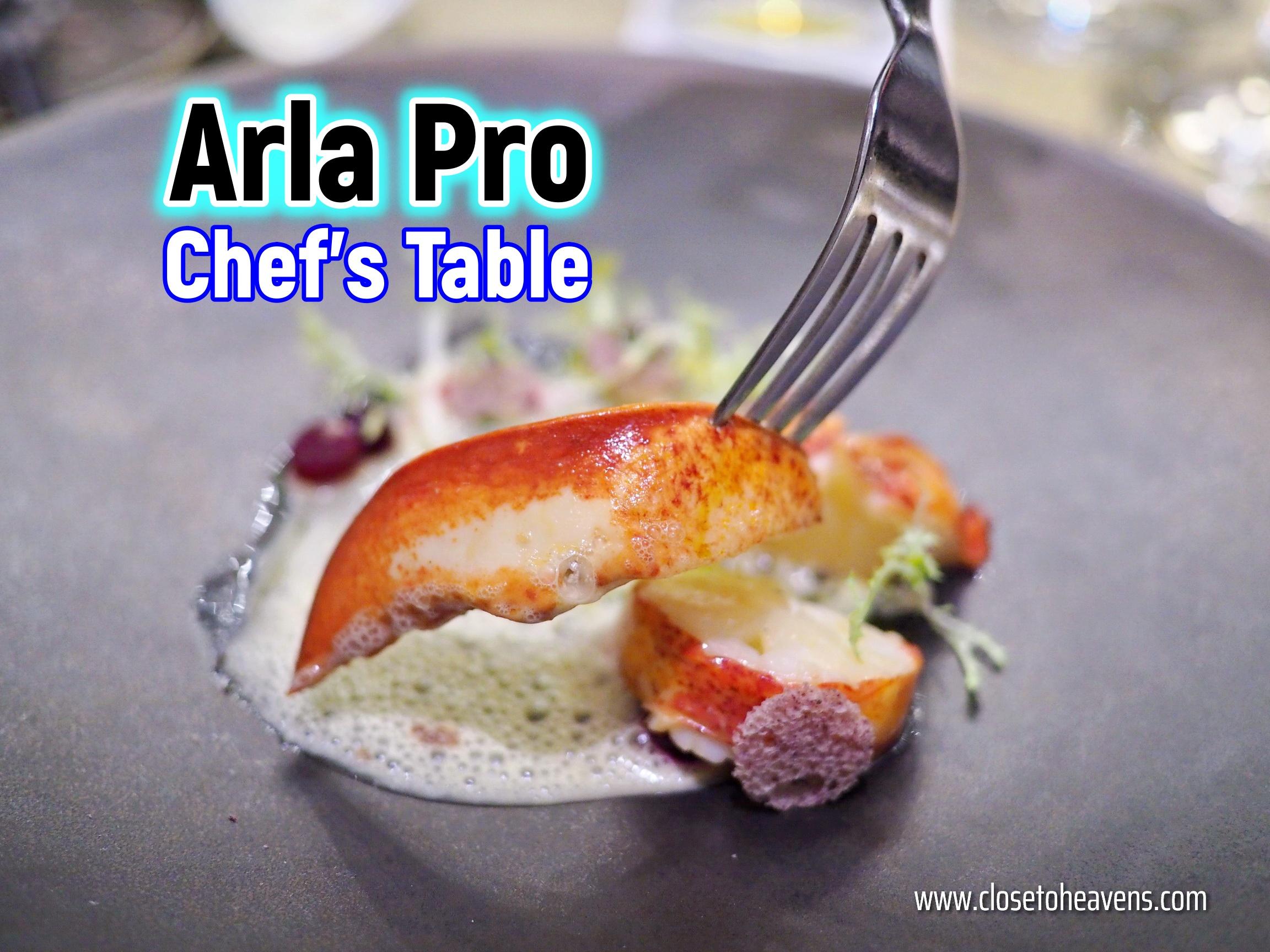 Arlo Pro Chef's Table 2019