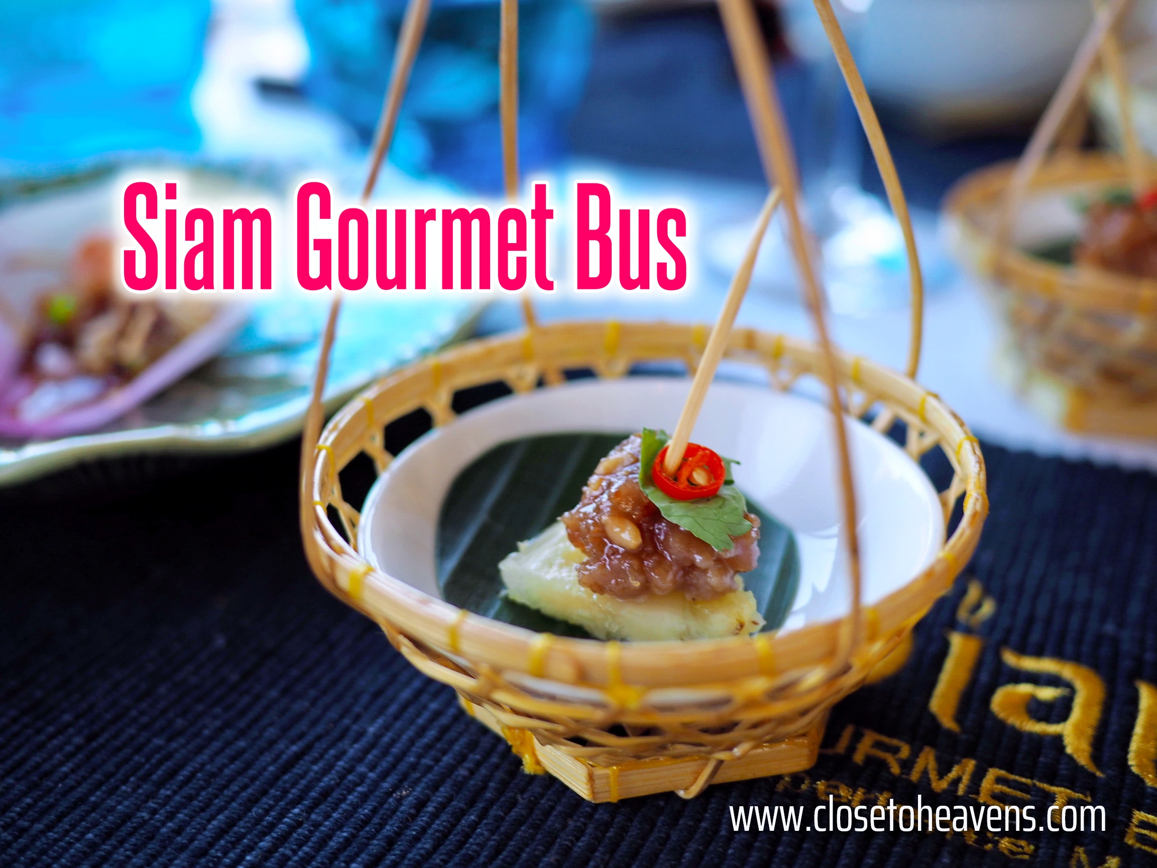 Siam Gourmet Bus, a new dining experience