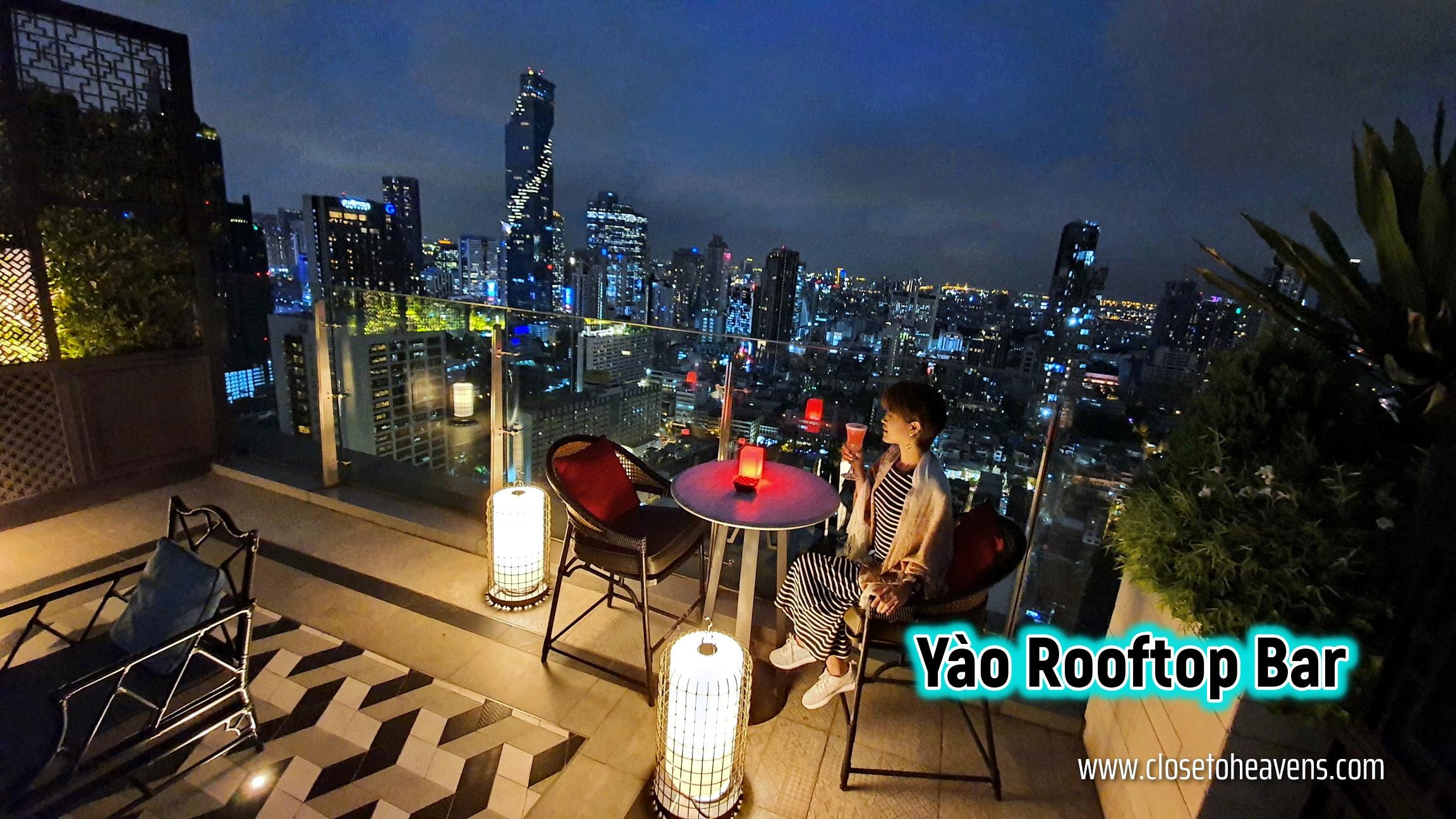 Yao Restaurant & Rooftop Bar Bangkok Marriott the Surawongse