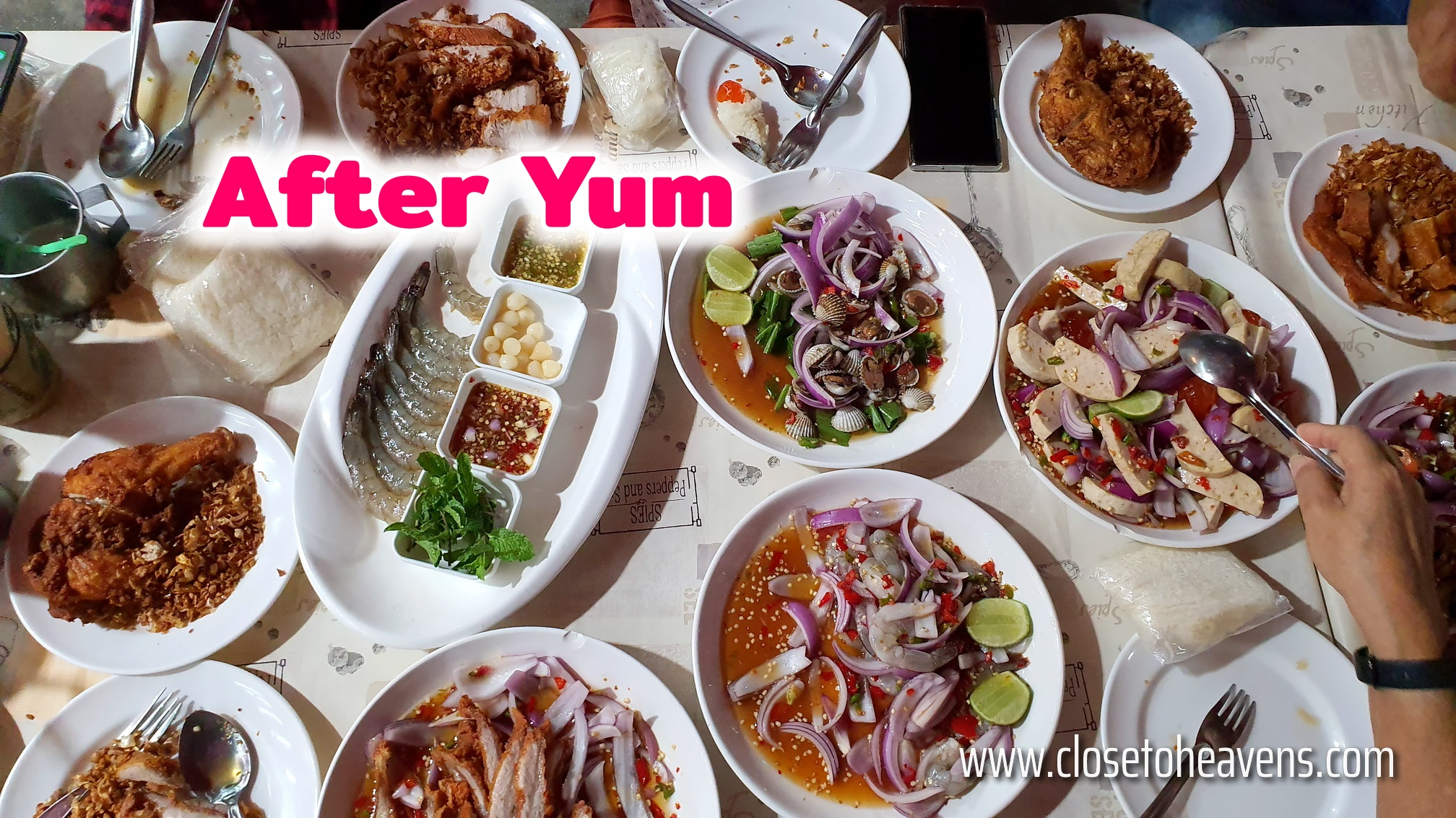 After Yum พัทยา 24 คน 88 จาน