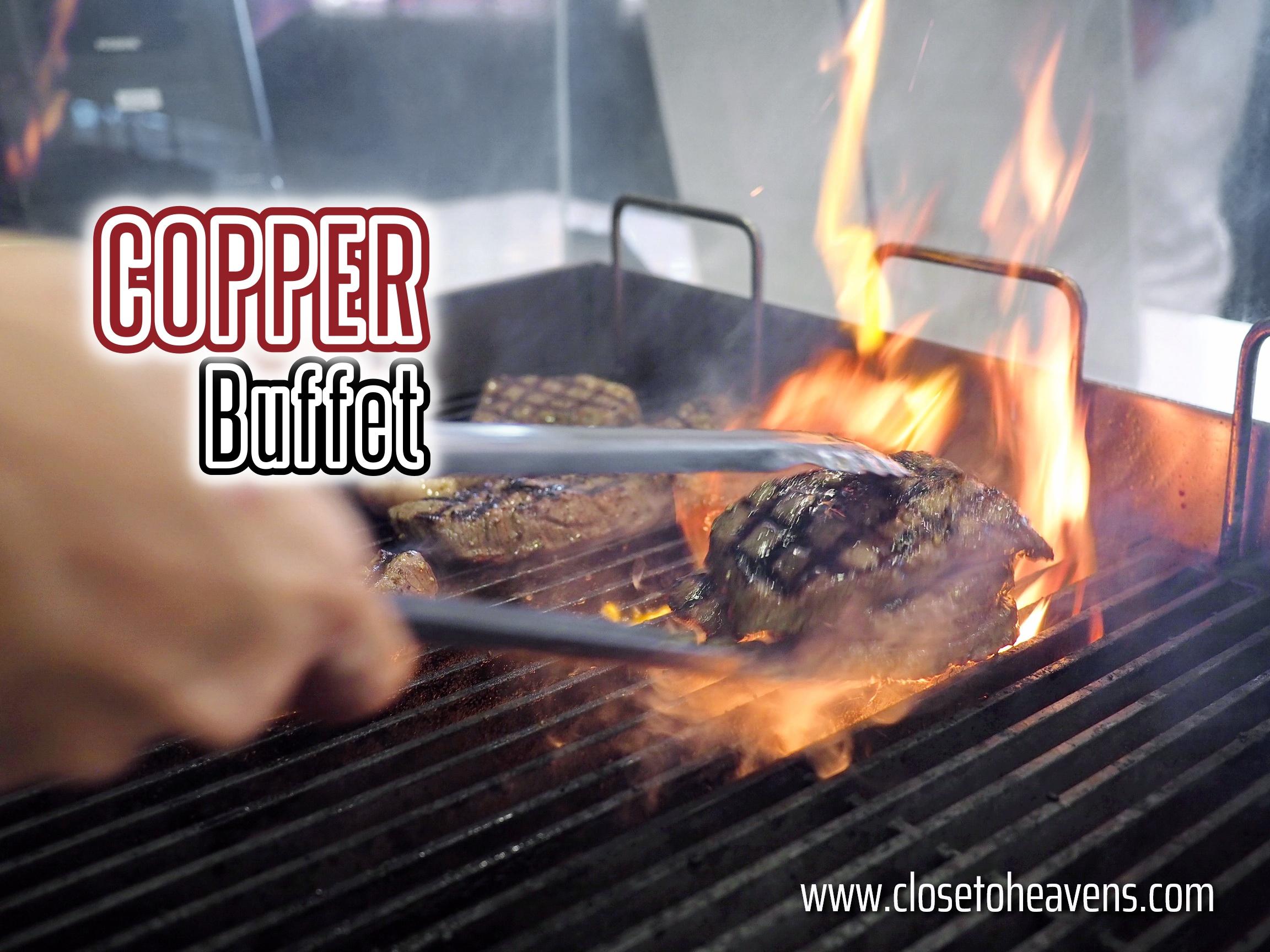 All New Copper Buffet โฉมใหม่ เมนูอลังการกว่าเดิม