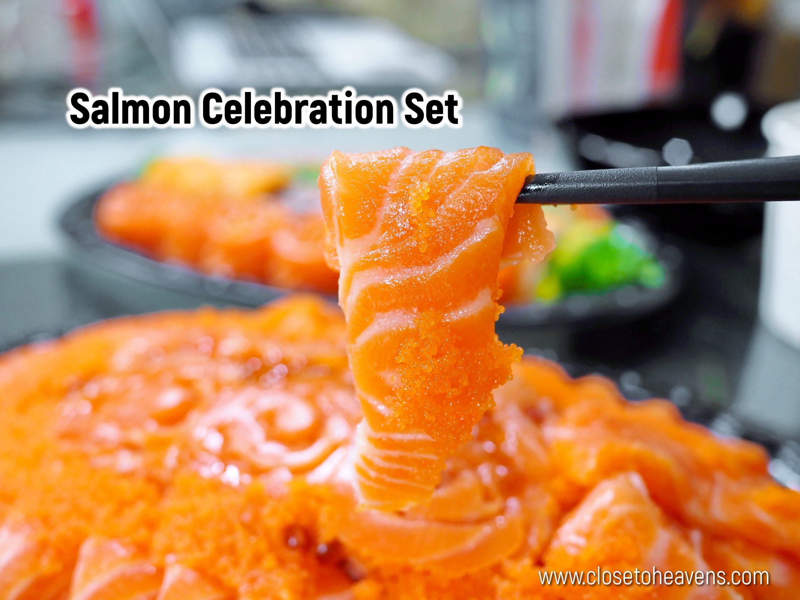 Salmon Celebration Set Thammachart Seafood