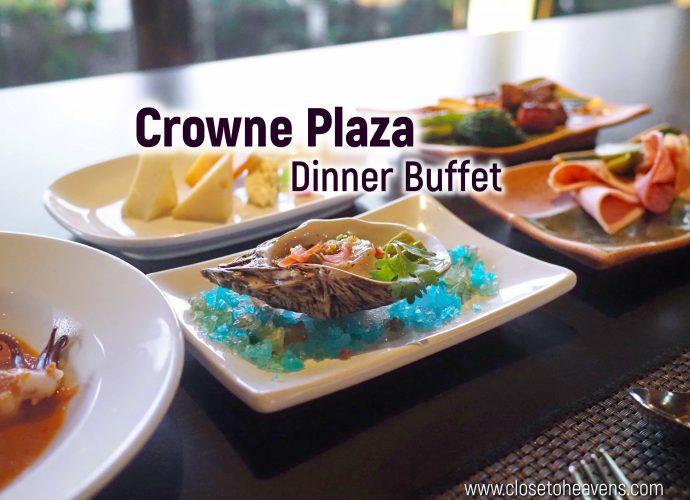 Panorama @ Crowne Plaza Bangkok | Dinner Buffet