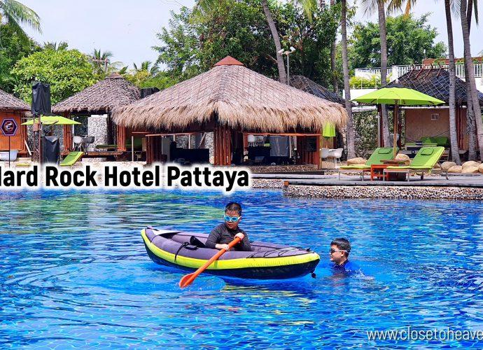 Hard Rock Hotel Pattaya รีวิวที่พัก & อาหารเช้า