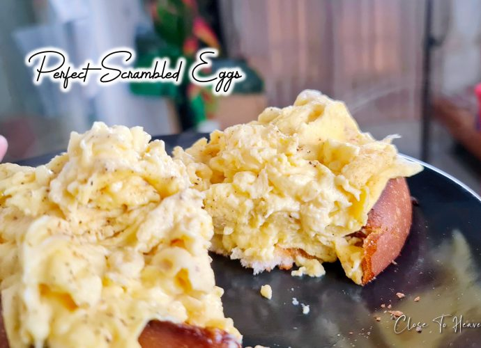 Perfect Scrambled Eggs ไข่คน ภายใน 5 นาที